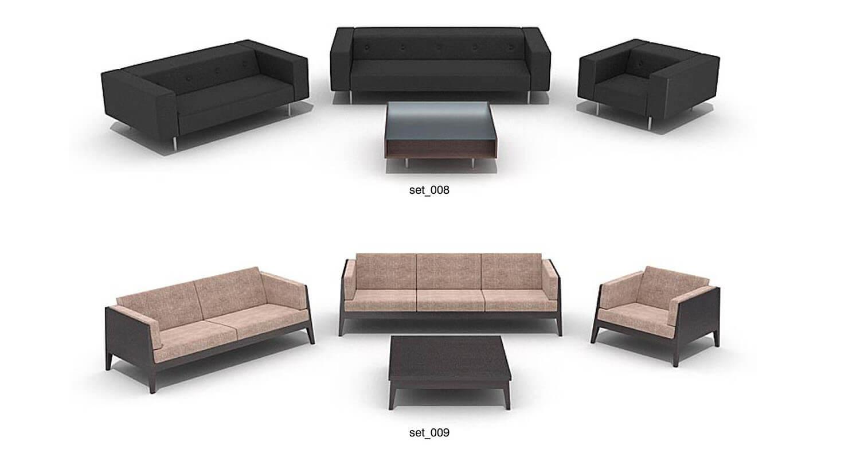 ghế sofa các màu Trắng, Đen, Nâu
