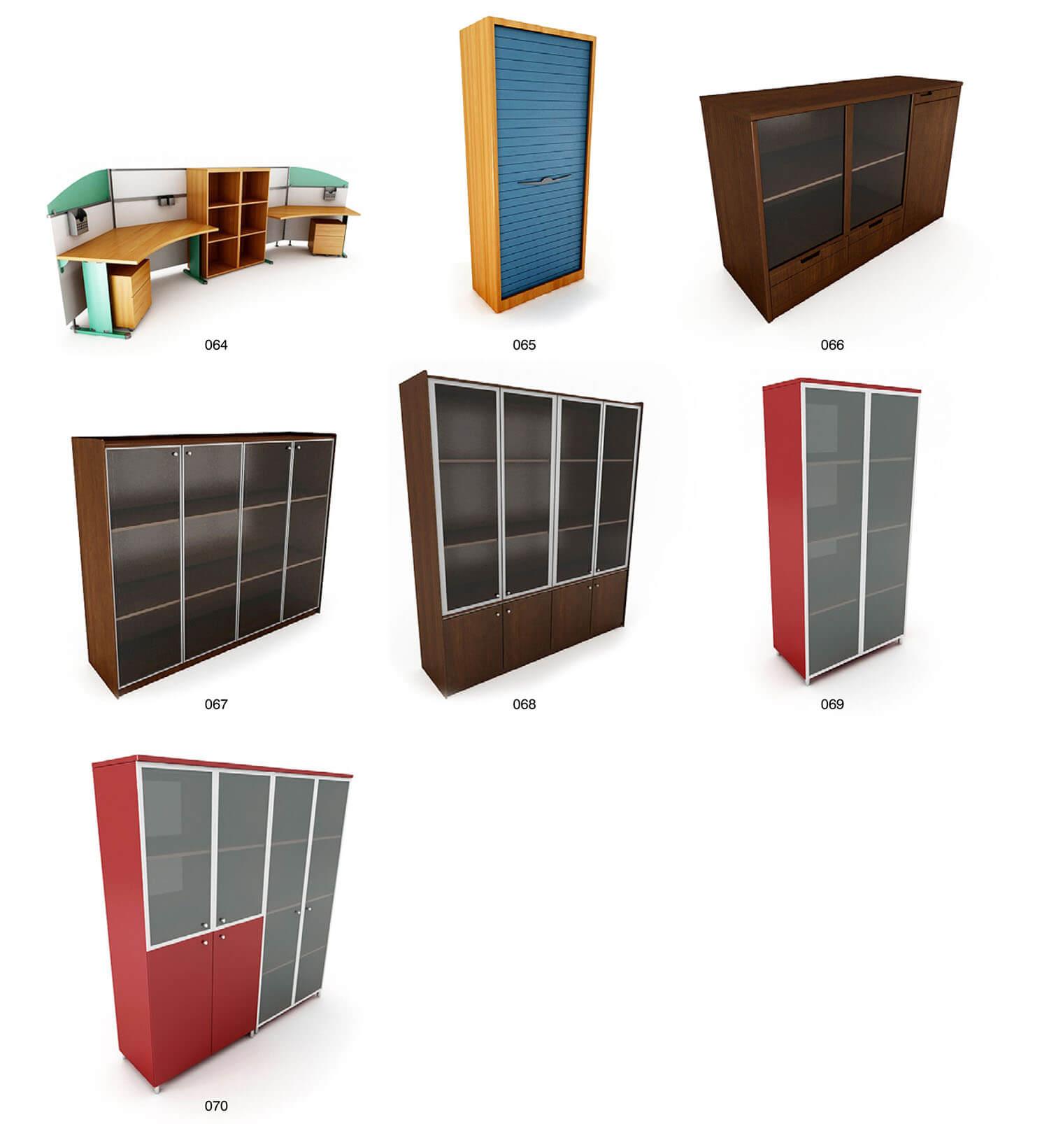 Một số mẫu tủ đựng tài liệu, giá sách chuyên dụng cho văn phòng