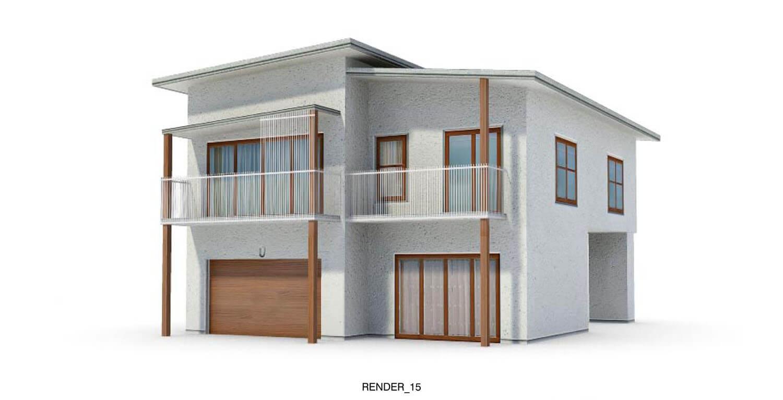 Biệt thự góc với 2 mặt tiền, kiểu dáng kiến trúc sinh sinh động