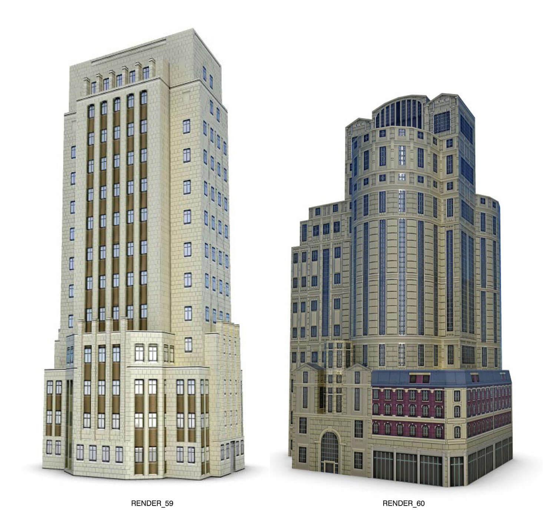 Những ngôi nhà cao tầng builidng