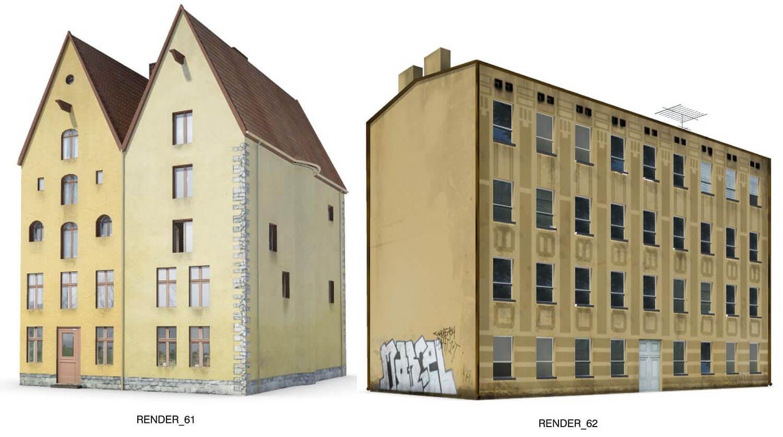 Các mẫu nhà tập thể cũ nay đã dần nhường chỗ cho building, gợi nhớ 1 thời