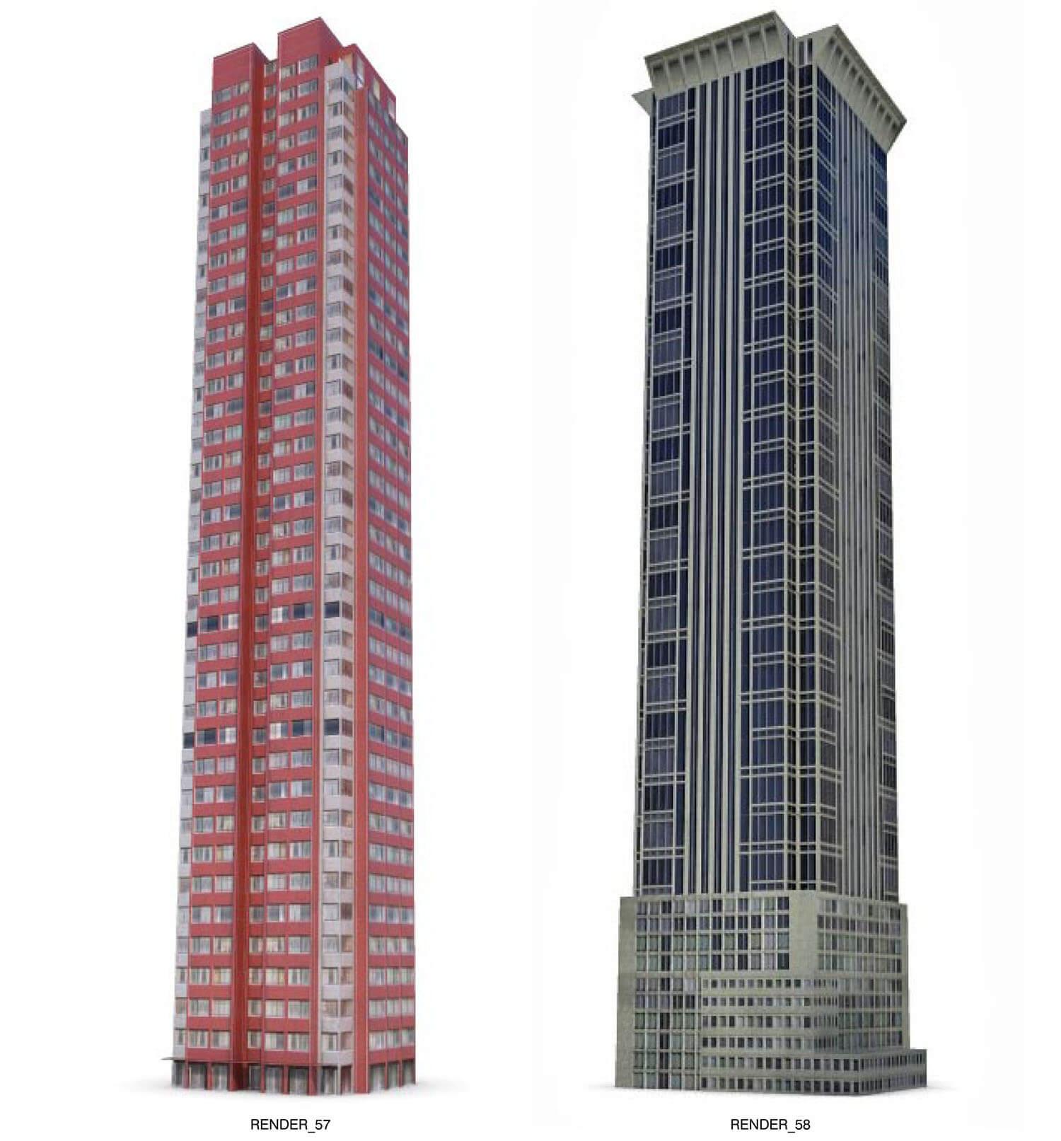 Mẫu nhà cao tầng có thiết kế cổ