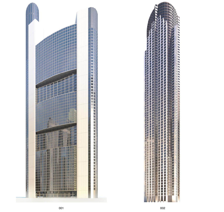 Mẫu nhà cao tầng có độ cao chọc trời