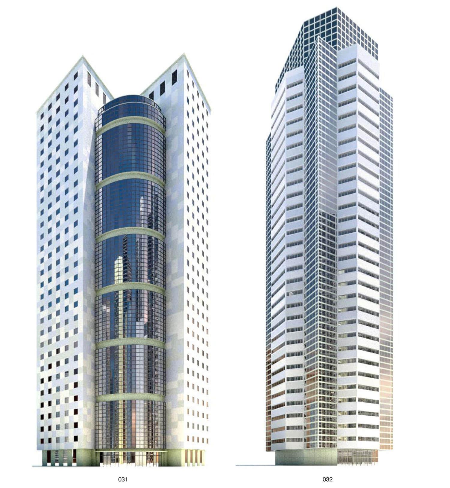 Nhà cao tầng với tông màu trắng, hẳn sẽ rất nổi bật giữa rừng nhà cao tầng bằng kính