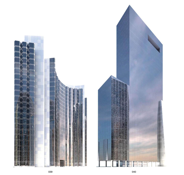 Building như khối gương phẳng  hướng lên trời