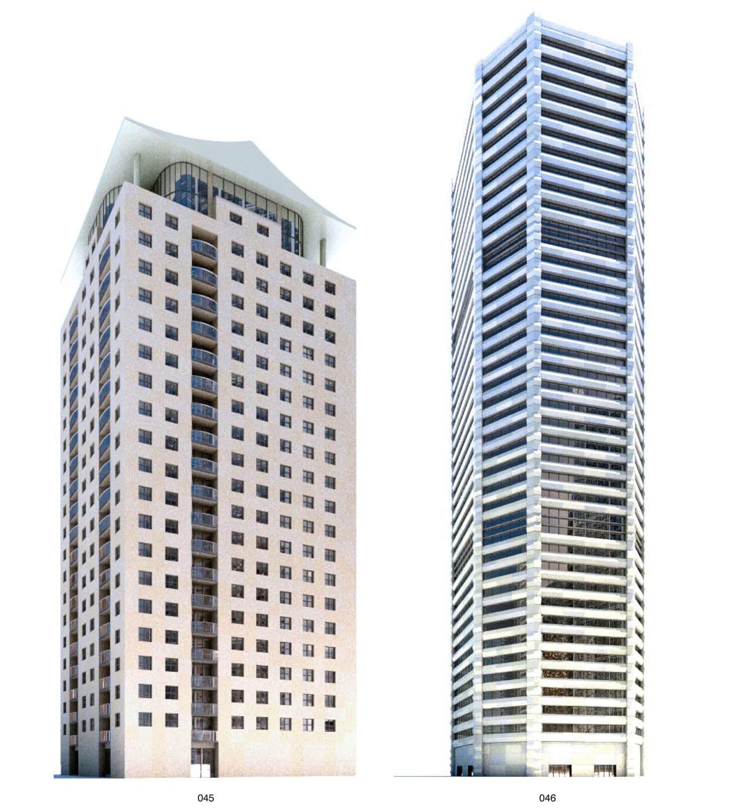 Nhà cao tầng xây bằng bê tông
