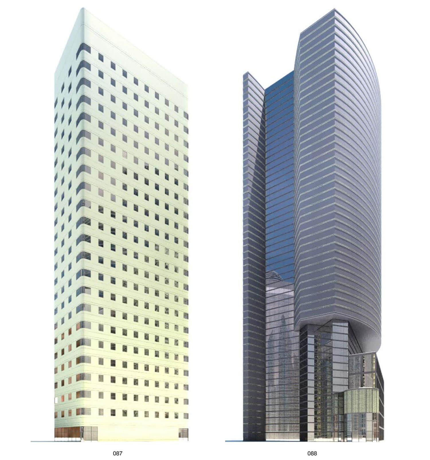 Mẫu building có kết cấu đẹp mắt