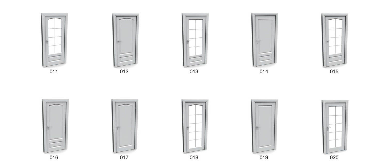 Các mẫu cửa gỗ hiện đại