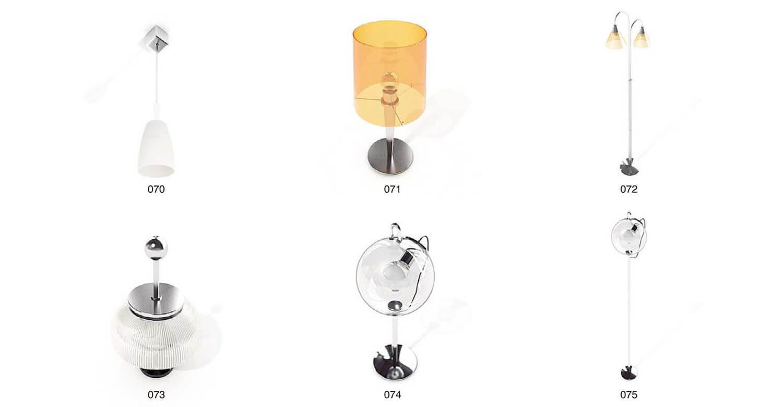 Các mẫu đèn với hình dáng độc đáo, tạo hình khi chiếu sáng
