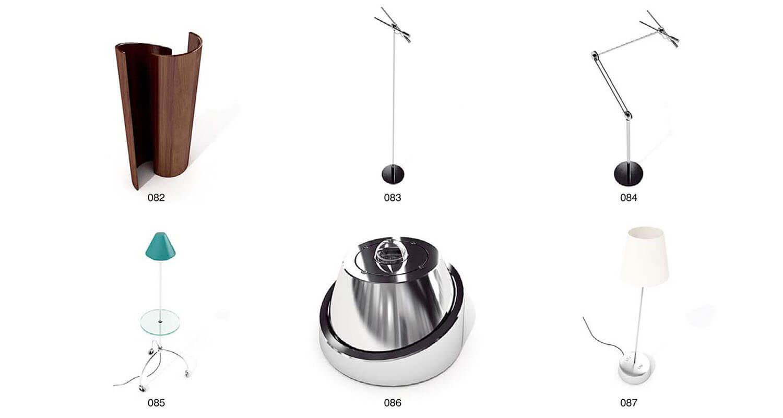 Đèn để bàn cho phòng ngủ không chỉ có hình tròn