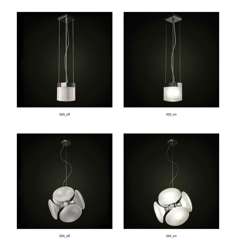 Đèn thả trang trí kiểu đơn giản