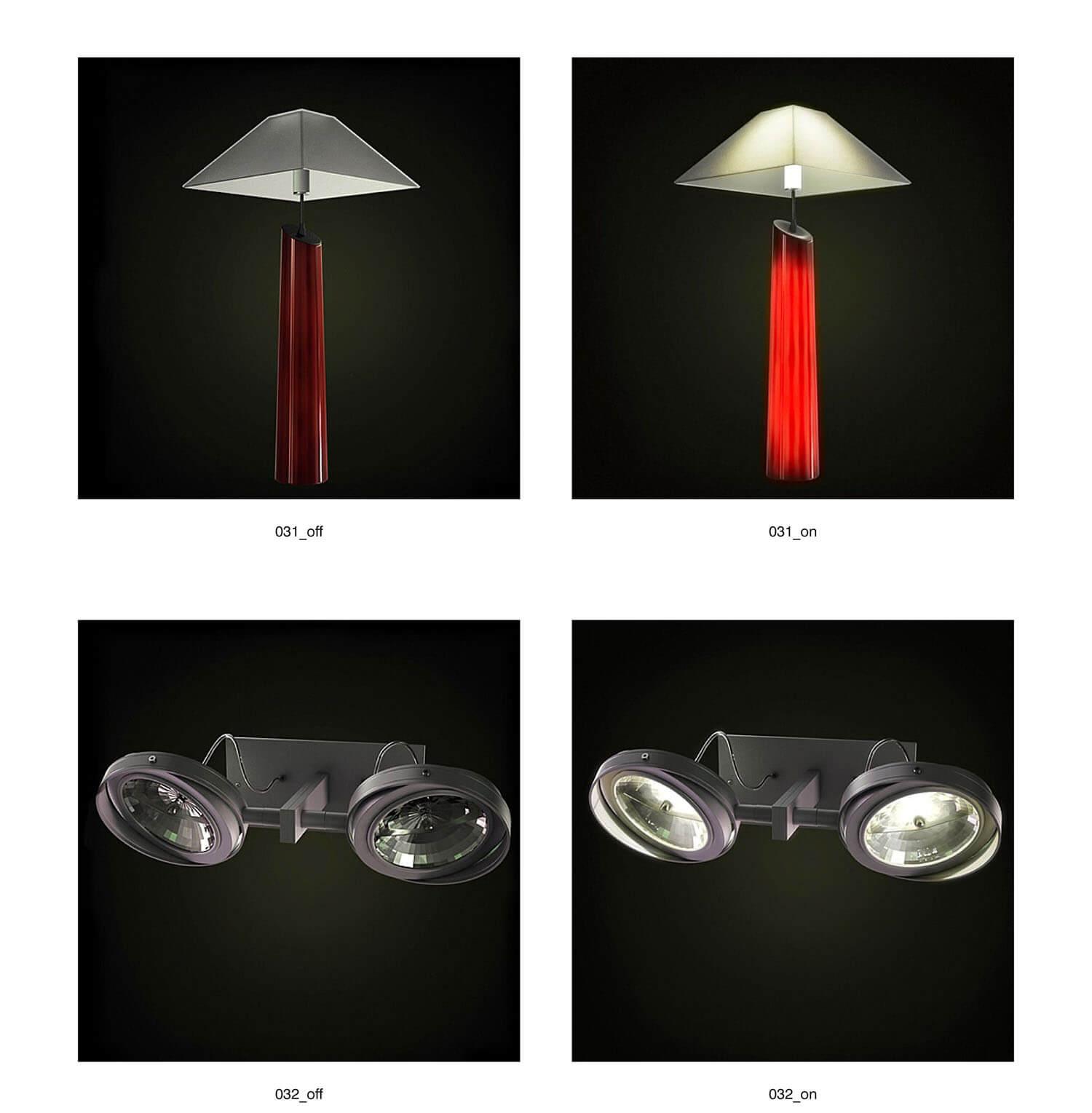 Đèn ngủ màu đỏ đồng bộ