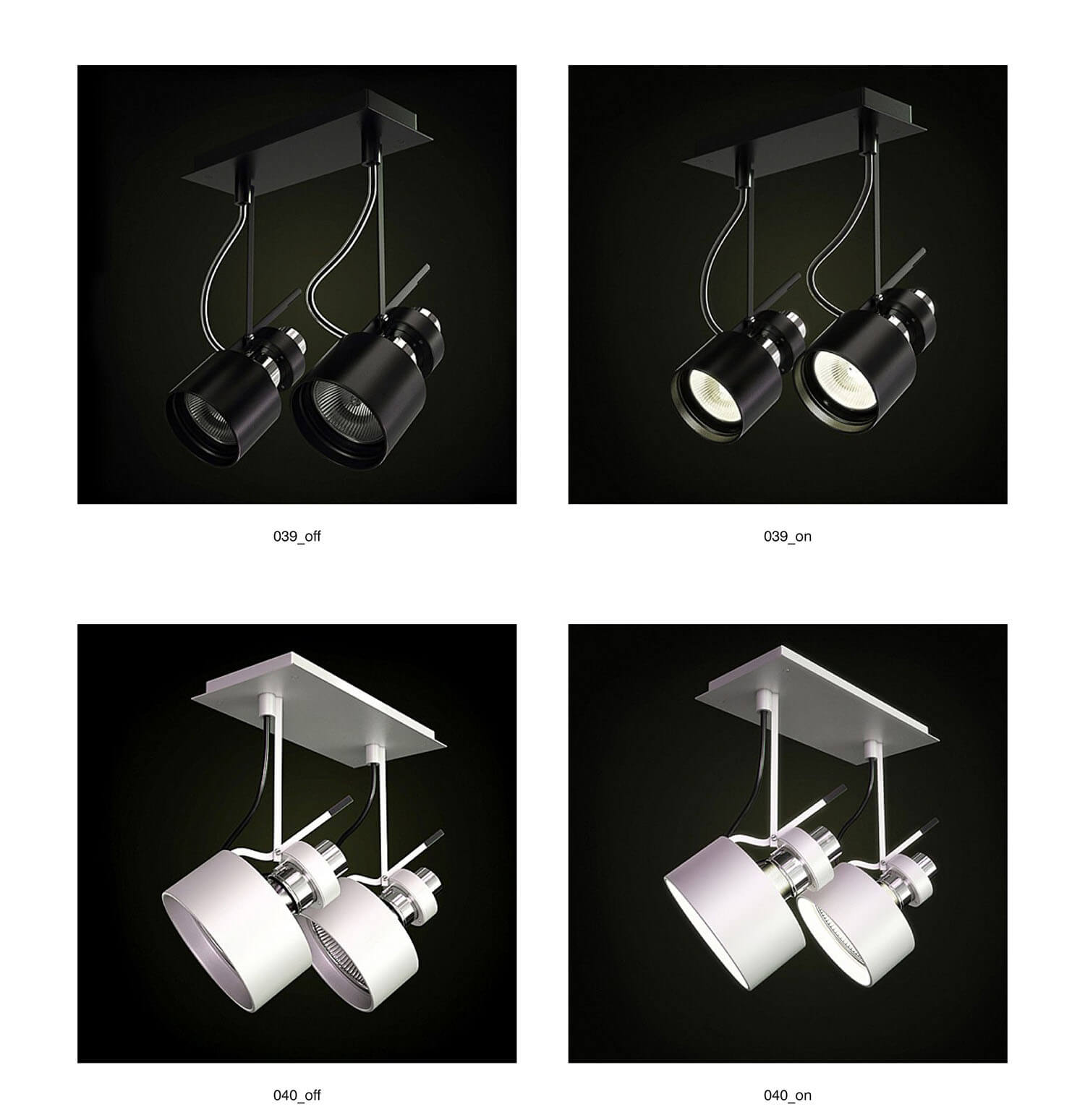 Đèn rọi ốp trần, tiết kiệm không gian và linh hoạt trong góc chiếu sáng