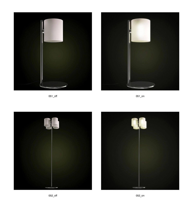 Đèn cây kiểu dáng trang nhã cho phòng ngủ