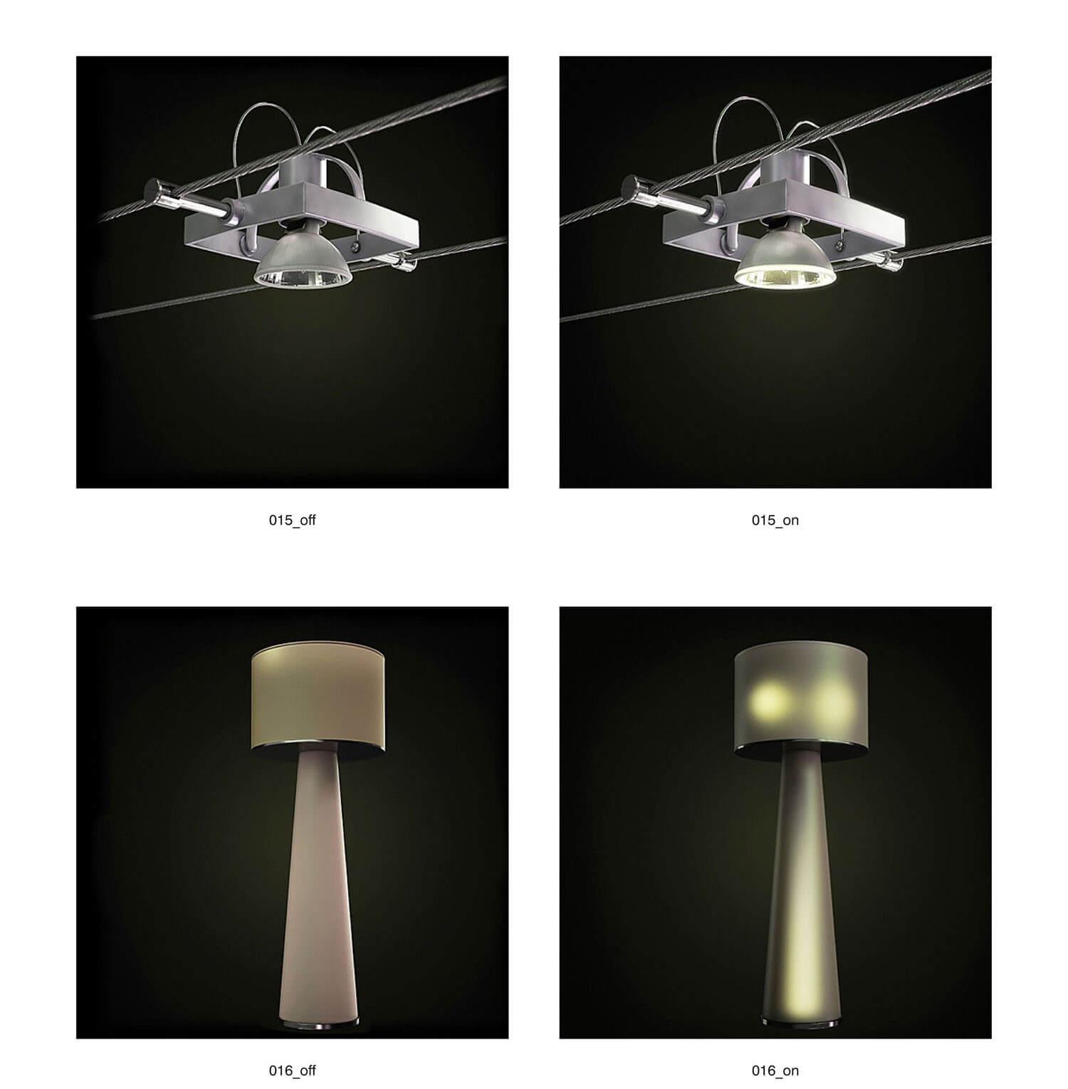 Các loại đèn phong cách mới lạ
