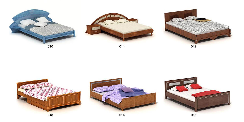 Giường ngủ gỗ đơn giản