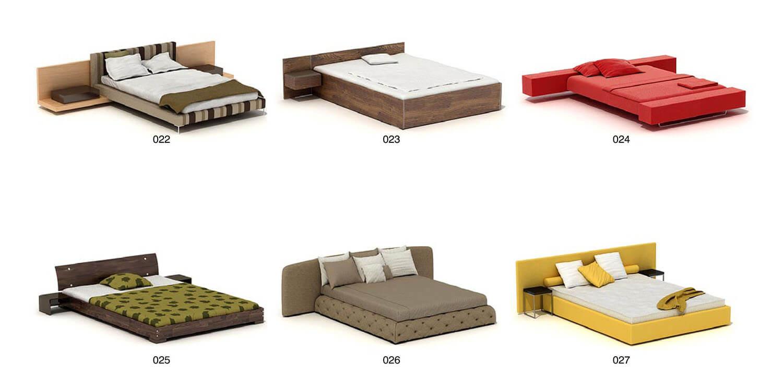 Một số mẫu giường hiện đại, chi tiết đơn giản nhưng vẫn đẹp và hợp thời trang