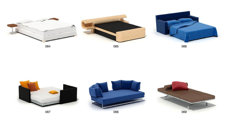 Giường ngủ dạng sofa các văn phòng hay phòng ngủ nhỏ