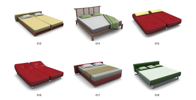 Giường đôi, giường gấp, linh hoạt trong sử dụng