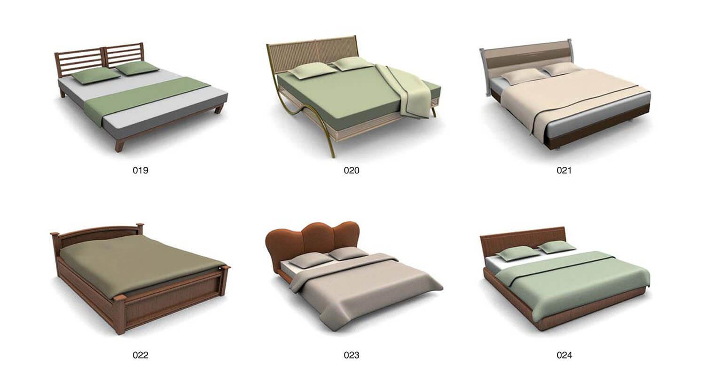 Các mẫu giường kiểu dáng đơn giản nhưng lạ mắt
