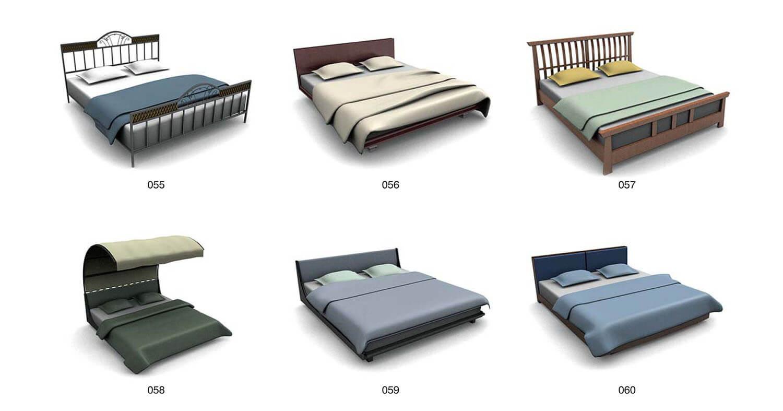 Giường với mái vòm bảo vệ cho giấc ngủ bình an