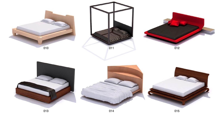Giường gỗ công nghiệp bọc nhỉ, có khung màn