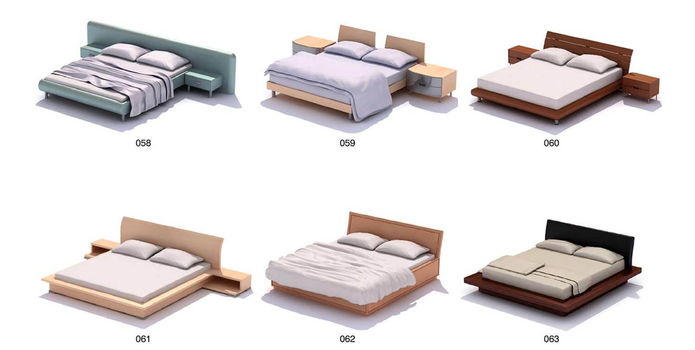 Táp đầu giường rất đồng bộ với giường