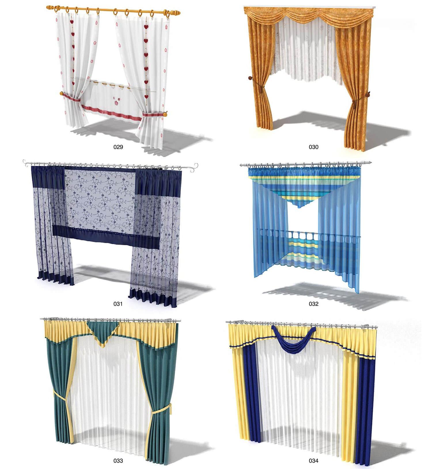 rèm nổi bật về hình thức và màu sắc, cho những chủ nhân điệu đà