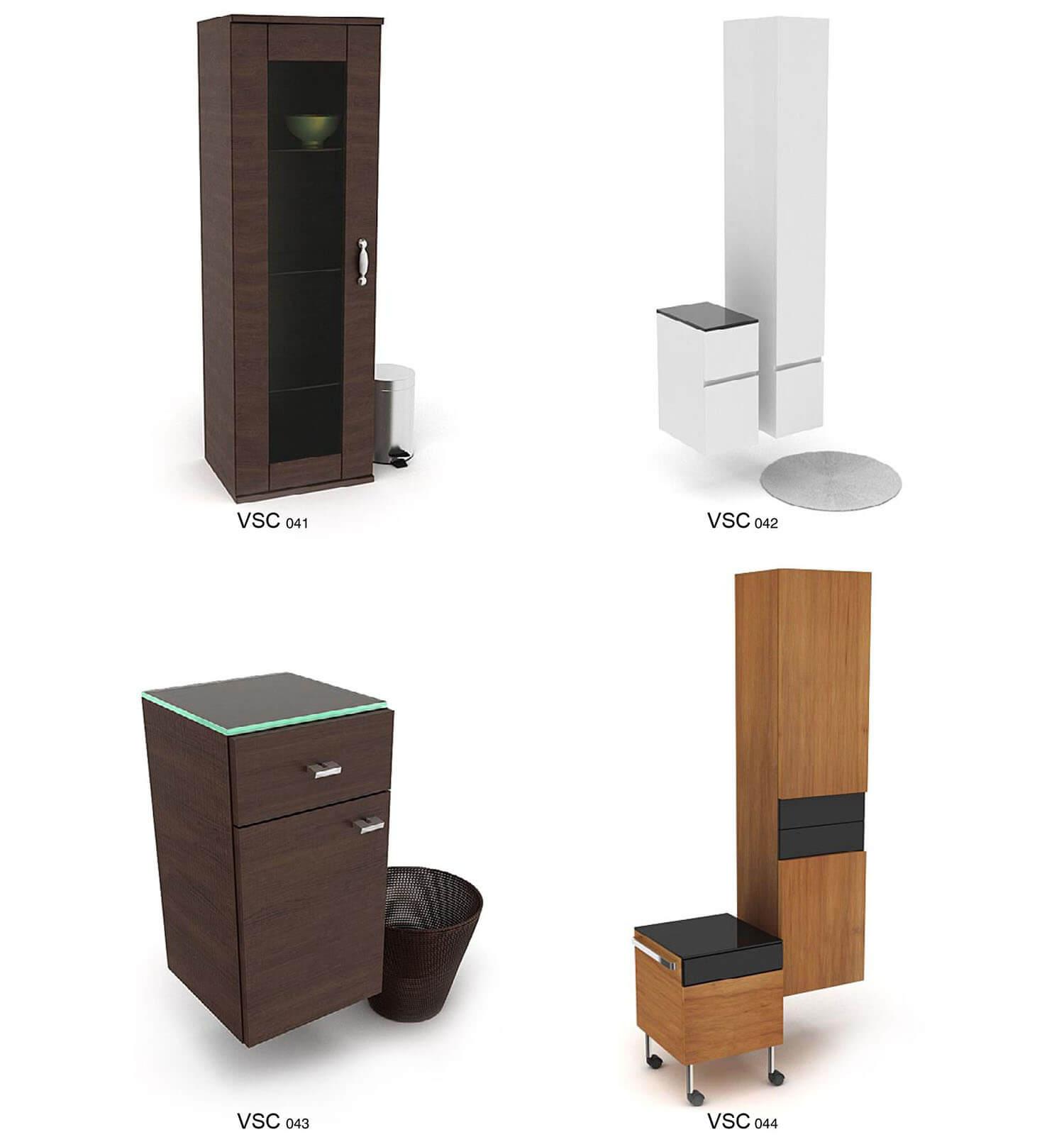Những kiểu tủ bằng gỗ kiểu dáng sang trọng