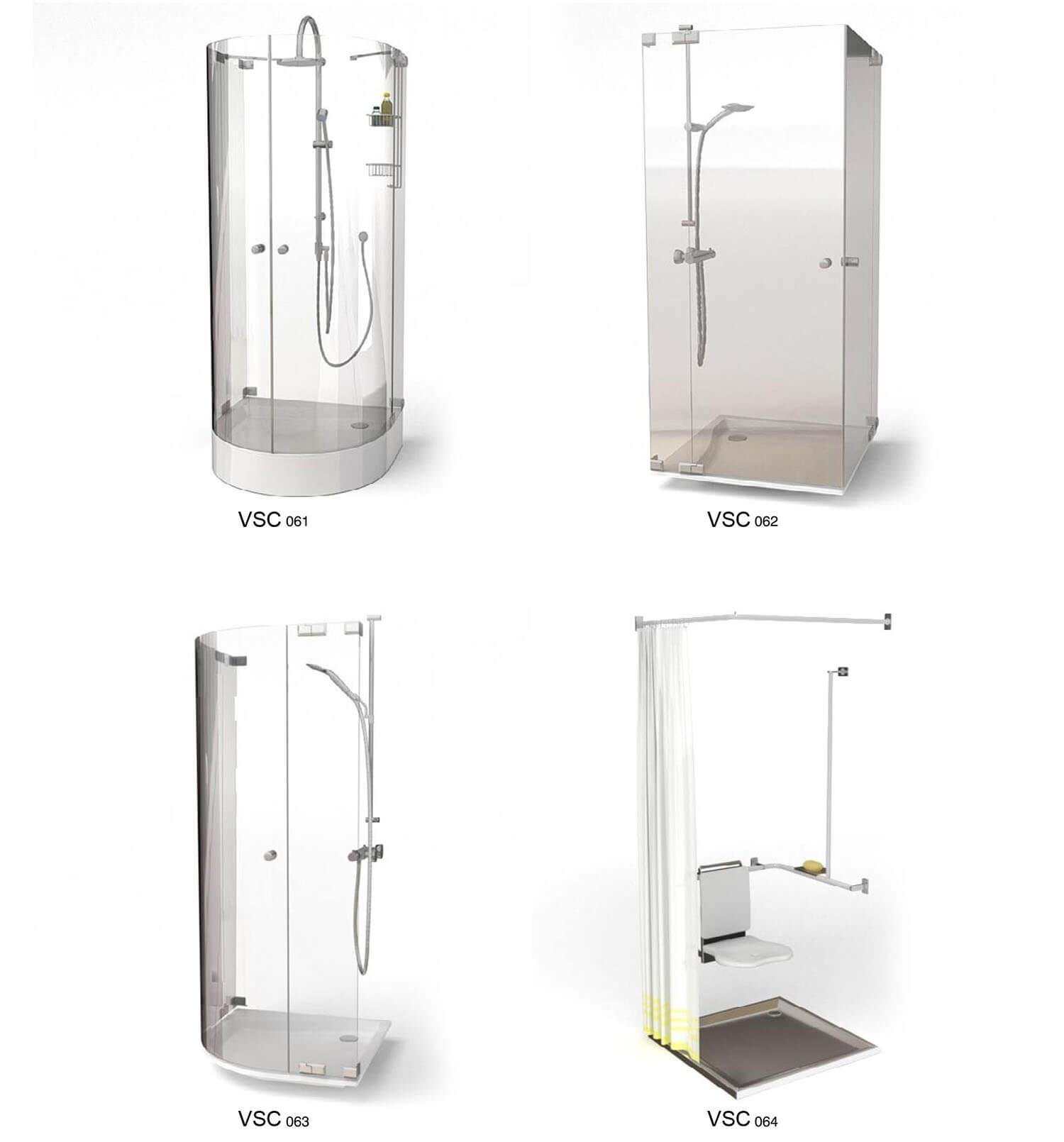 Những mẫu bồn tắm đứng sử dụng cho phòng tắm hiện đại