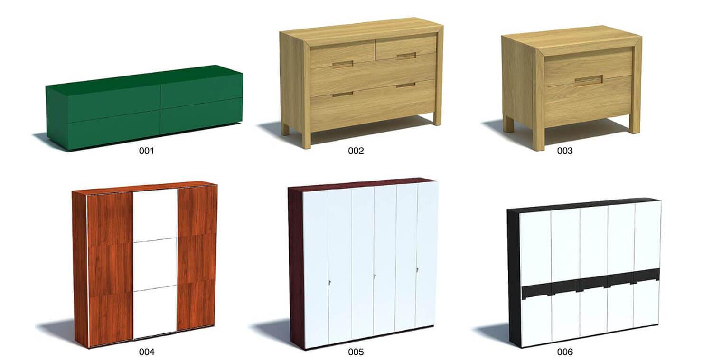 Các thiết kế tủ đê đồ gỗ kiểu hiện đại bằng các đường nét thẳng