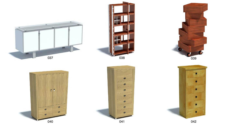 Những mẫu tủ đứng được thiết kế kiểu ngăn kéo