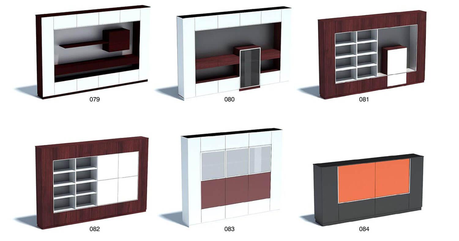 Tủ đồ trang trí, tủ tivi với kiểu dáng nghệ thuật