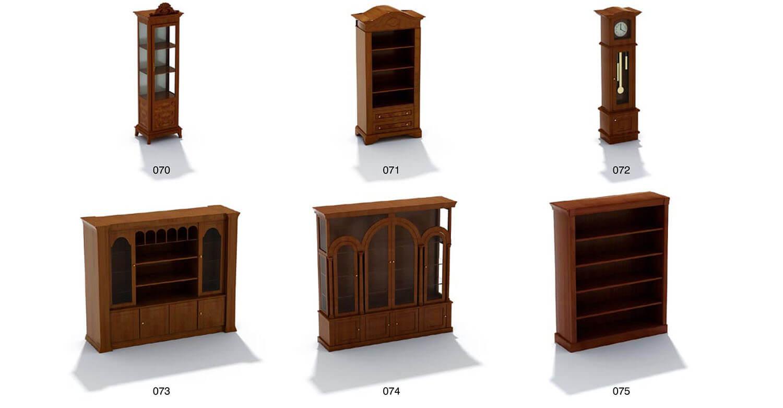 Các mẫu tủ trang trí, tủ đồng hồ cổ, gợi lại 1 phong cách xa hoa quý tộc