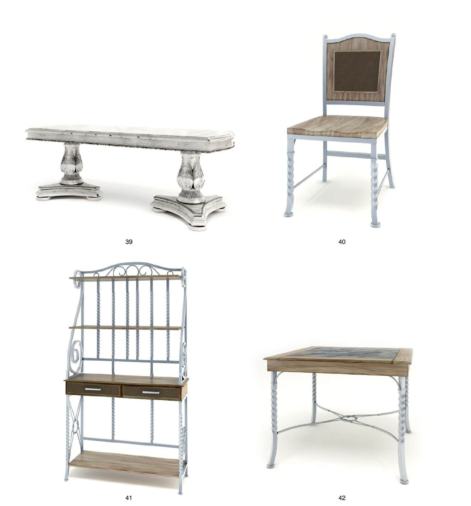 Các bộ bàn ghế kết hợp gỗ và sắt nghệ thuật không gian cafe, sân vườn