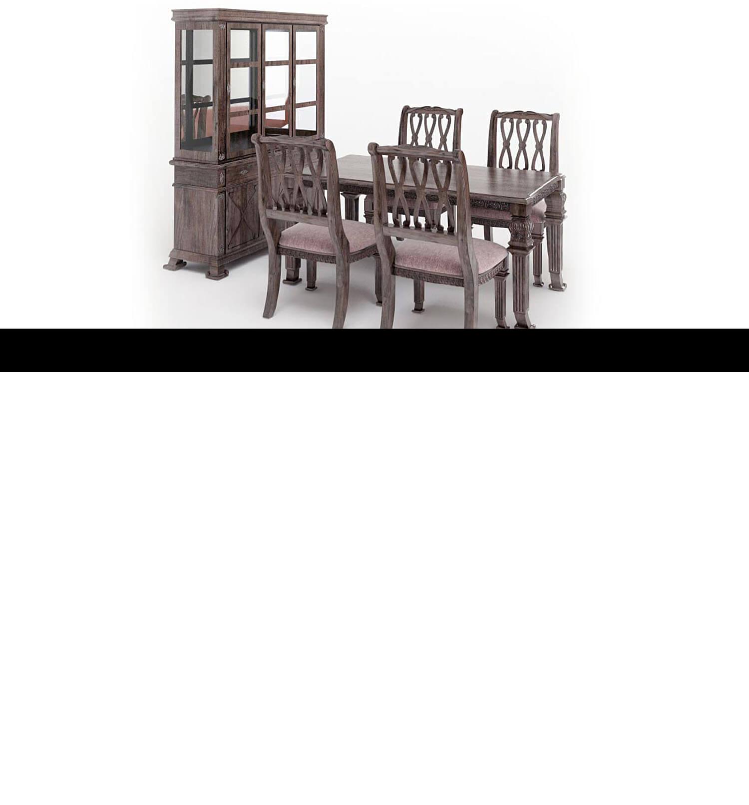 Các bộ bàn ăn kiểu cách tân hiện đại hơn, nhìn nhẹ nhàng, không cầu kì