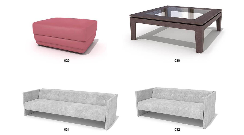 Ghế sofa nỉ đơn giản