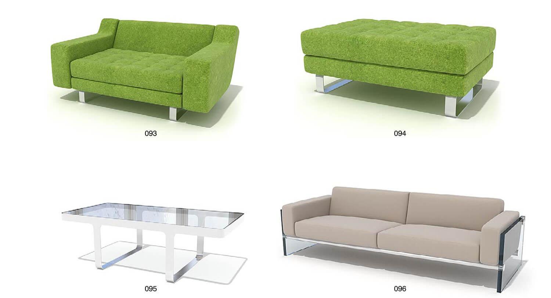 Màu sắc sofa xanh cũng thật trẻ trung và nổi bật
