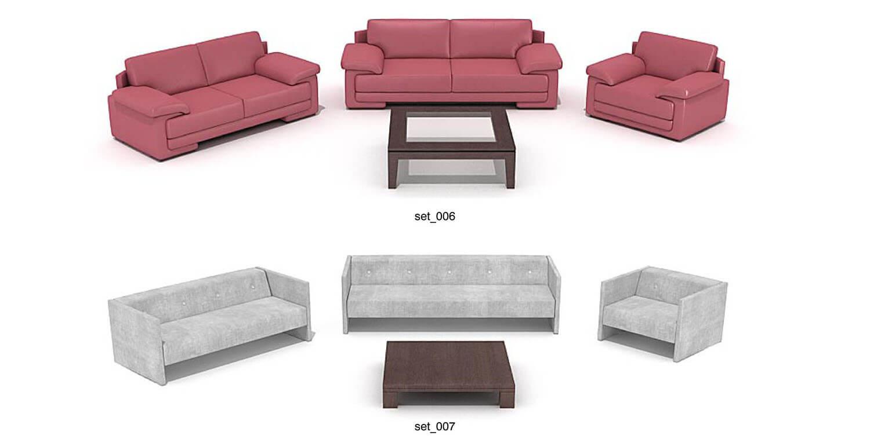 Mẫu sofa hiện đại với màu sắc đơn giản