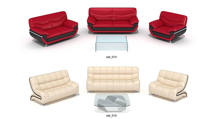 Một số mẫu sofa với màu sắc da sặc sỡ, cho những không gian đặc biệt