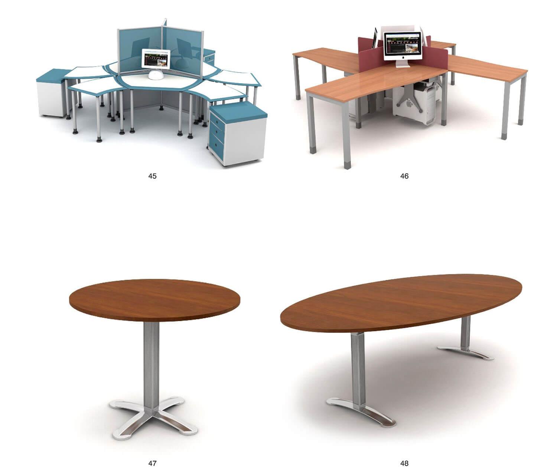 nội thất văn phòng bàn họp, bàn làm việc cho làm việc nhóm, làm việc tập thể