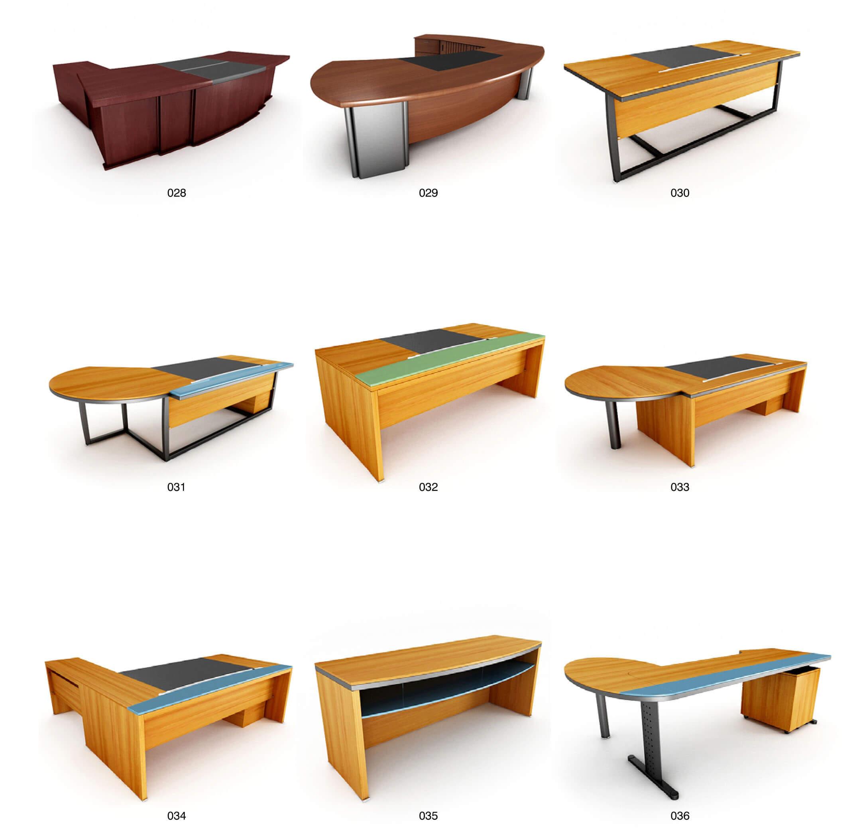 Những mẫu bàn nhân viên có kiểu dáng đơn giản dễ kết hợp và đồng bộ