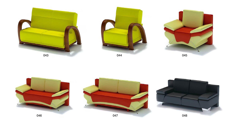ghế salon đơn kiểu đơn giản, tiện dụng cho thiết kế phòng khách
