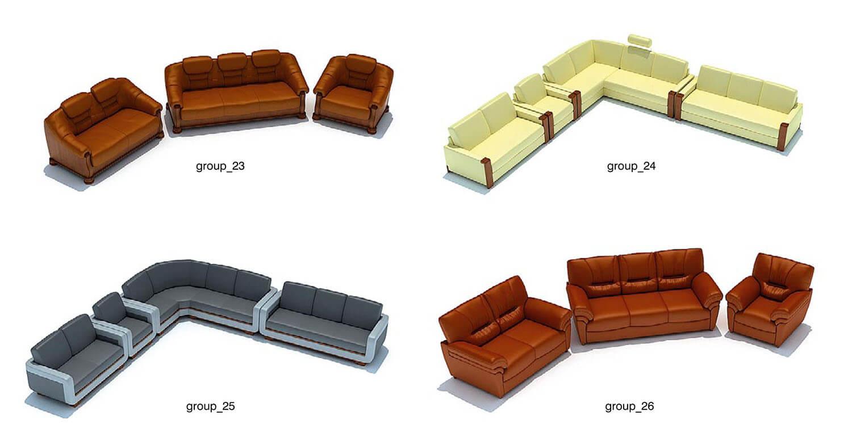 màu trầm như nâu, kem, ghi là các màu sắc phổ biến khi chọn ghế sofa