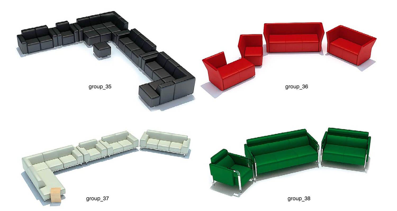 Các loại sofa ghép block, đơn giản và tiện dụng phòng karaoke