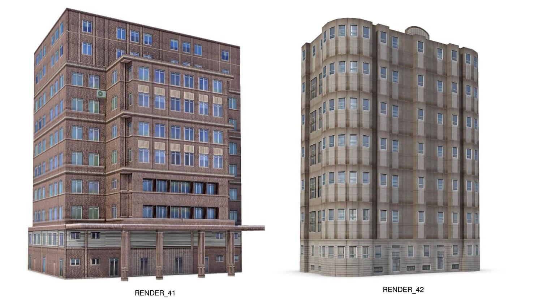 Mẫu nhà cao tầng kiểu cổ điển có kết cấu đơn giản