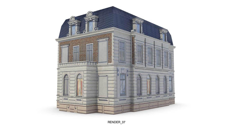Ngôi nhà kiểu Pháp cổ, tạo sự sang trọng, tinh tế
