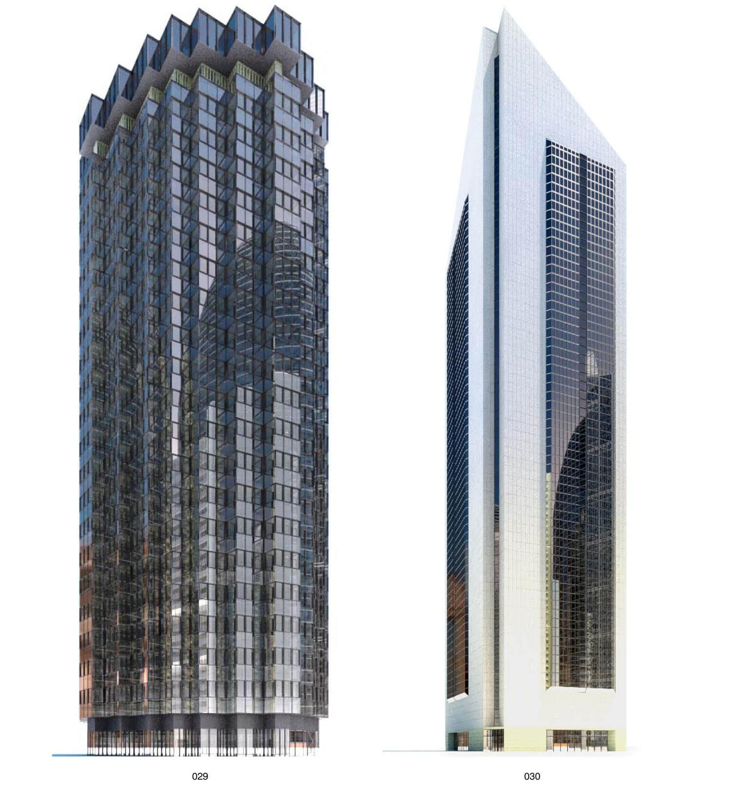 Nhà cao tầng với các đường nét mạnh mẽ như đến từ vũ trụ