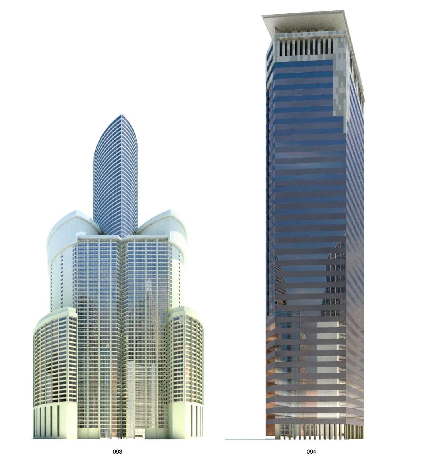 Building có mặt bằng giống như hình bông hoa