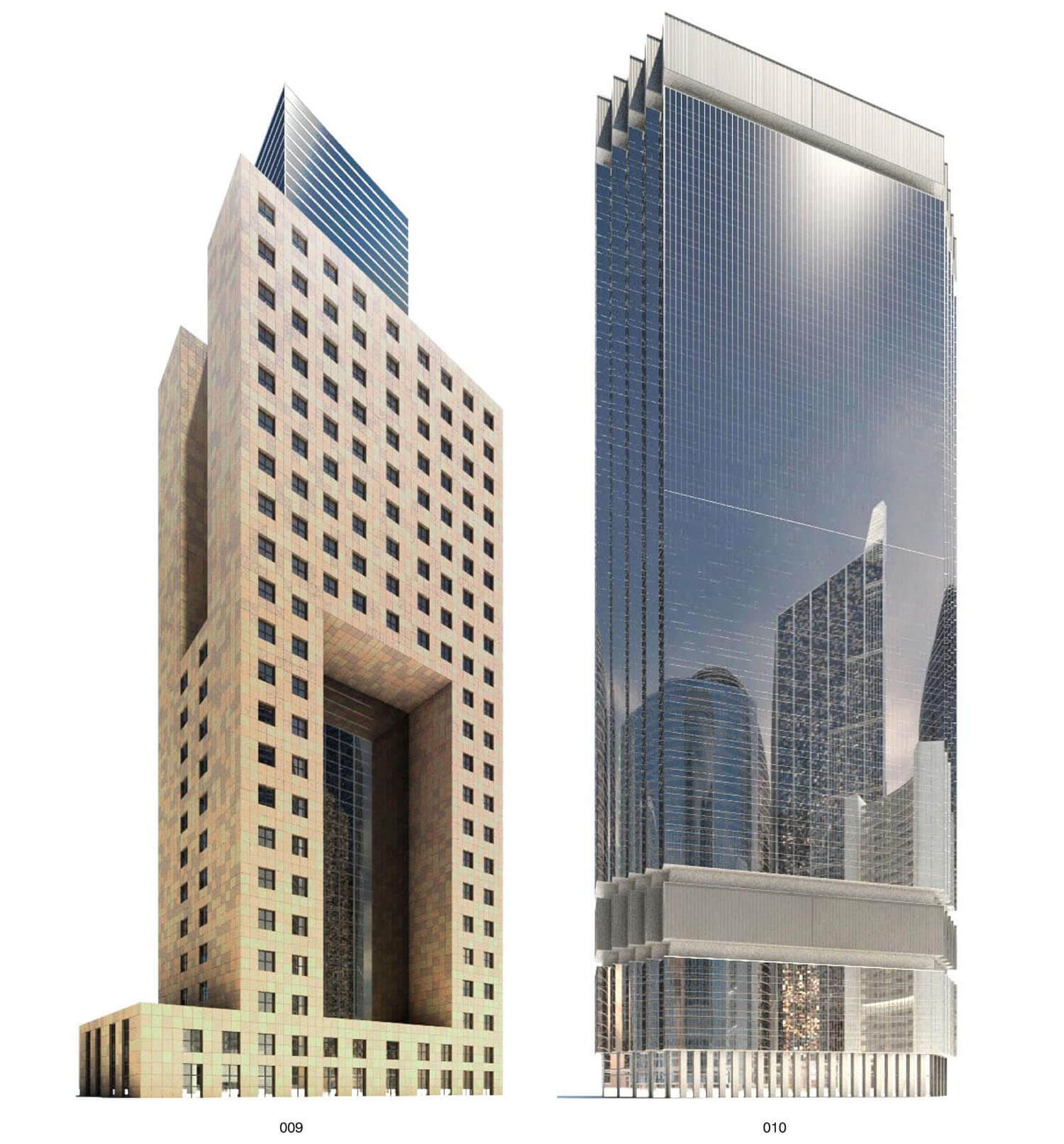 Building với hình khối độc đáo, khiến người xem phải ngắm nghía kĩ từng chi tiết